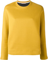 Marni crew neck scuba sweatshirt - women - Cotton/Polyamide - 40