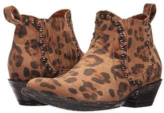 Old Gringo Teena Dance (Leopard) Cowboy Boots