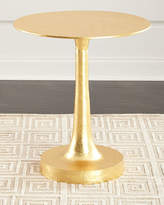 Arteriors Sasha Gold Leaf Side Table
