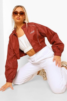 boohoo Fit Contour Piping Zip Up Jacket