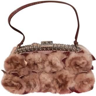 Valentino Beige Mink Clutch bags