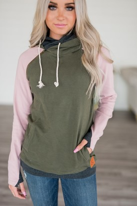 Ampersand Avenue Baseball DoubleHood Sweatshirt - Do Gooder