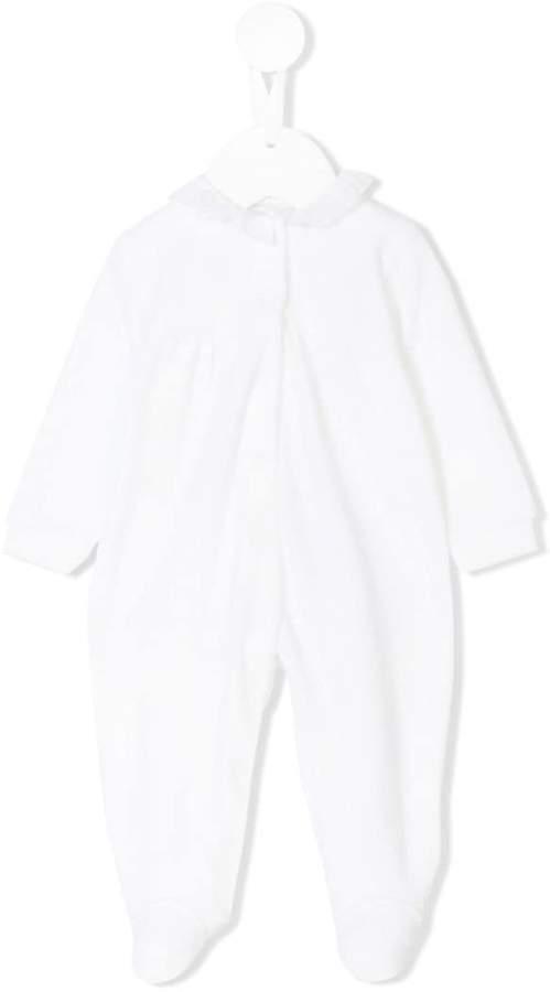 Il Gufo ruffle detail pyjama