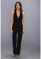 Luli Fama Cosita Buena T-Back Long Jumpsuit Cover-Up