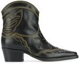 Ganni Texas Low boots