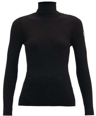 Fusalp Ancelle Roll-neck Ribbed-jersey Sweater - Black