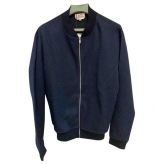 Hermes Navy Wool Jackets