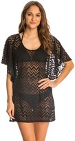 Dotti Chic Chevron Flutter Cover Up Tunic 8141721