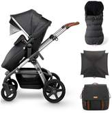 Silver Cross Wave Pushchair, Footmuff, Parasol & Changing Bag Bundle