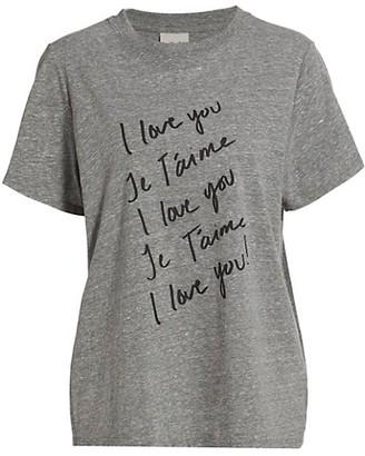 Cinq à Sept I Love You Graphic T-Shirt