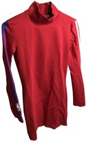 Marcelo Burlon County of Milan Red Cotton - elasthane Dress for Women