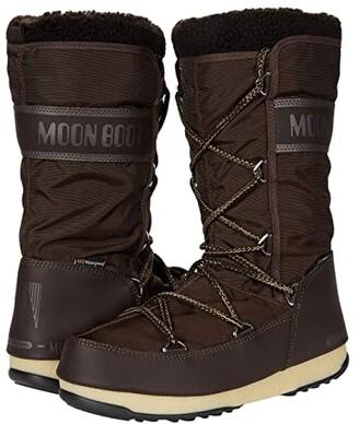 Moon Boot r) Monaco Wool WP (Mud) Women's Boots