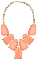 Kendra Scott Harlow Statement Necklace in Coral