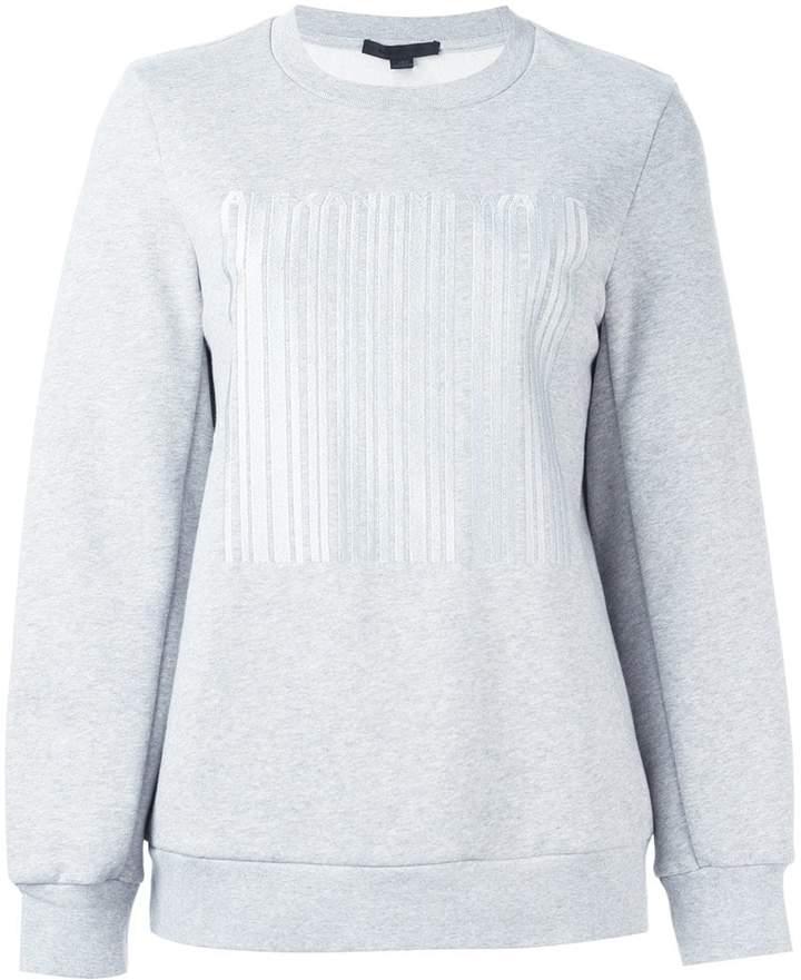 Alexander Wang welded barcode sweatshirt