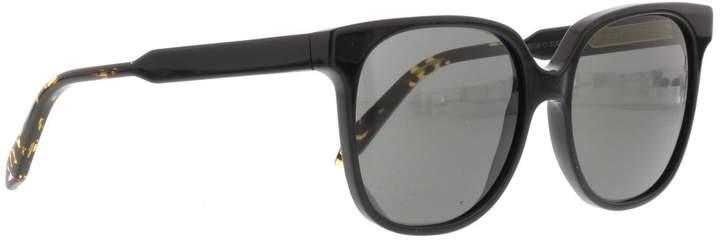 Victoria Beckham Classic Black Solid Sunglasses