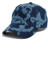 Rag & Bone Women's Marilyn Adjustable Baseball Cap - Blue