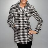 City Style Coat - Houndstooth