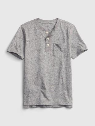 Gap Kids Vintage Henley T-Shirt