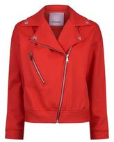 Pinko Technical Fleece Biker Jacket