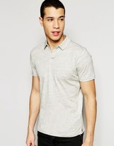 Selected Polo Shirt with Split Neck