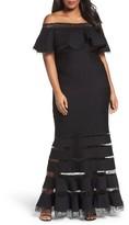 Tadashi Shoji Plus Size Women's Jersey Gown