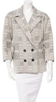 Etoile Isabel Marant Patterned Double-Breasted Jacket