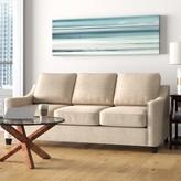 Clark Sofa Bed Sleeper Edgecombe Furniture Upholstery: Ridgecrest Meadow, Finish: Cafelle