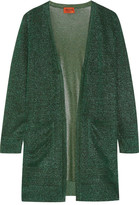 Missoni Metallic Crochet-knit Cardigan - Green