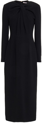 Emilia Wickstead Remy Textured Crepe Midi Dress