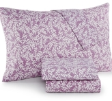 Jessica Sanders Printed Full 4-Pc Sheet Set, 220 Thread Count, Created for Macy's