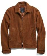 Todd Snyder Suede Aviator Jacket in Brown