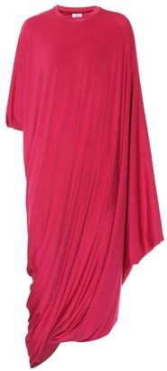 Vetements Asymmetrical stretch jersey dress