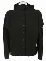 Issey Miyake Ribbed-Knit Shirt