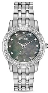 Citizen Silhouette Crystal Watch, 31mm