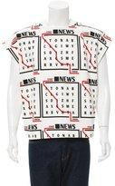 J.W.Anderson Spring 2016 Newsprint T-Shirt w/ Tags