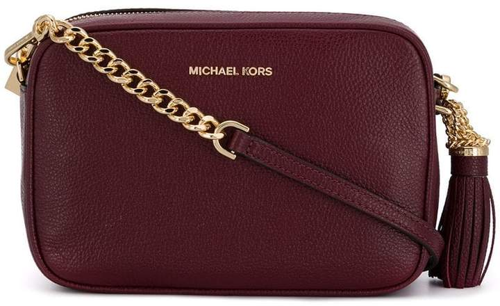 f6ff9c19fbfd MICHAEL Michael Kors Red Leather Crossbody Bags For Women - ShopStyle Canada