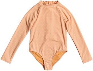 Roxy Kids' Long Sleeve One-Piece Swimsuit