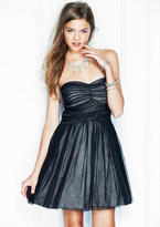 Delia's Metallic Mesh Party Dress