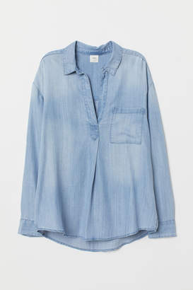 H&M Popover lyocell shirt