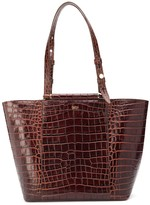 Max Mara crocodile effect tote
