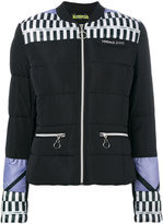 Versace colour-block padded jacket - women - Polyester - 38