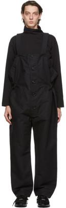 Engineered Garments Black Wader Overalls