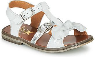 Catimini CARLETTE girls's Sandals in White