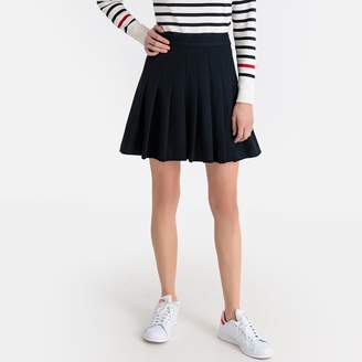 La Redoute Collections Short Pleated Skirt