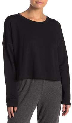 Möve PST by Project Social T Gotta Fleece Lined Crop Pullover