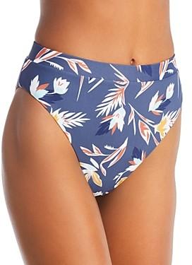 Dolce Vita Matisse Floral High Waist Bikini Bottom