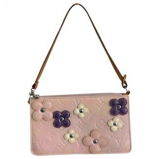 Louis Vuitton Lexington Pink Patent leather Handbags