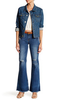 Just USA Mid Rise Flare Leg Jean