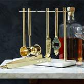 west elm Deco Barware Collection - Brass + Marble