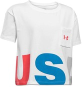 Under Armour Girls' Cropped Tee - Big Kid